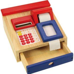 UnityJ UK Toys Santoys Wooden Cash Register 01