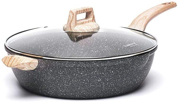 UnityJ UK Kitchen Deep Frying Pan 32cm 05