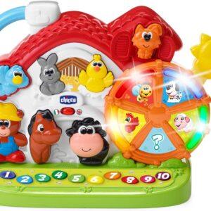 UnityJ UK Toys Chicco Bilingual Farm Activity Centre 11