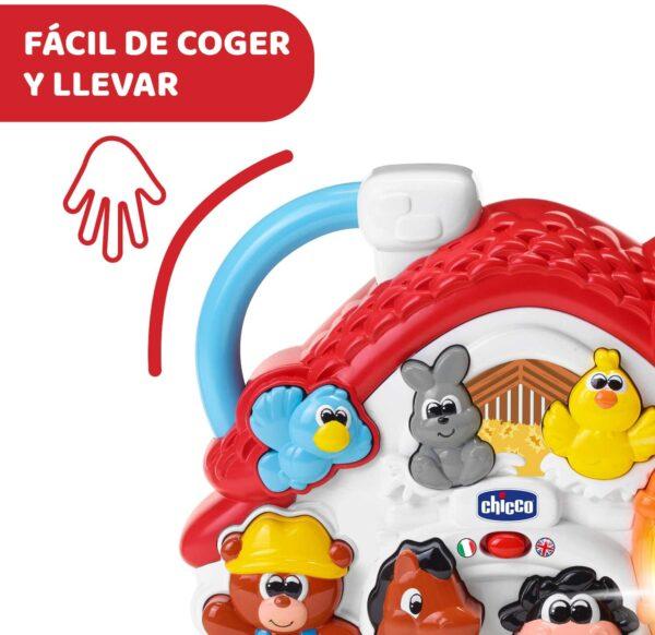 UnityJ UK Toys Chicco Bilingual Farm Activity Centre 8 06