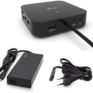 UnityJ UK Health I Tec USB C Dual Display Docking Station 60