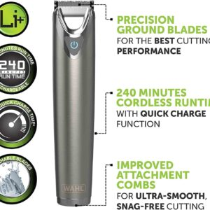 UnityJ UK Kitchen Appliances Wahl Stainless Steel Trimmer 1 85