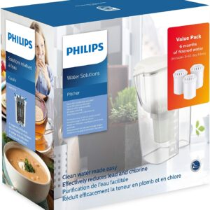 Unityj Uk Kitchen Philips AWP2918 3 Starter Set Water Filter Jug 12