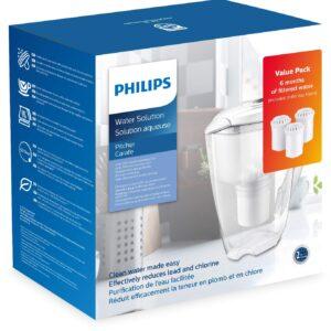 Unityj Uk Kitchen Philips AWP2920 3 Starter Set Water Filter Jug 10